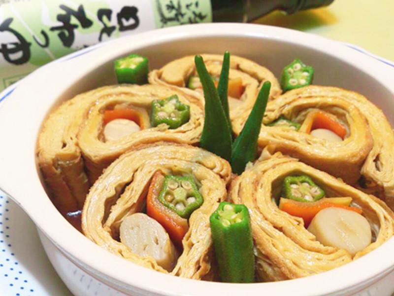 時蔬豆包捲『時間淬釀的甘露之味』~莎媽五心級料理