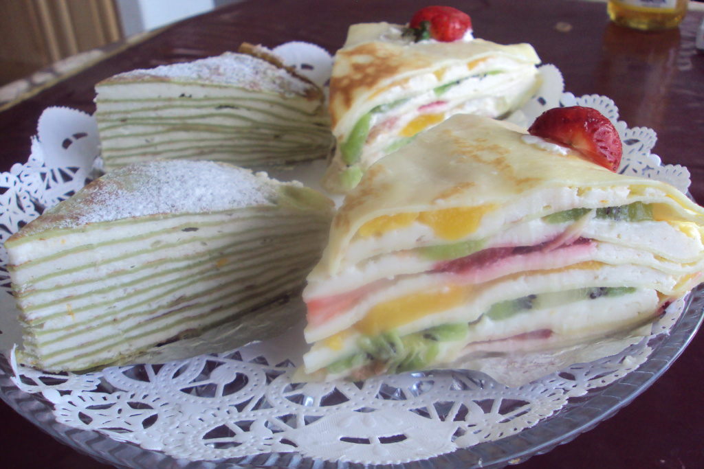 千層蛋糕(一)