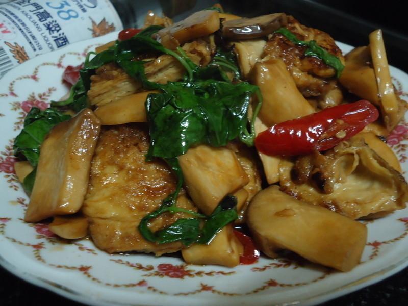 『金門高粱飄香料理』-塔香杏包菇