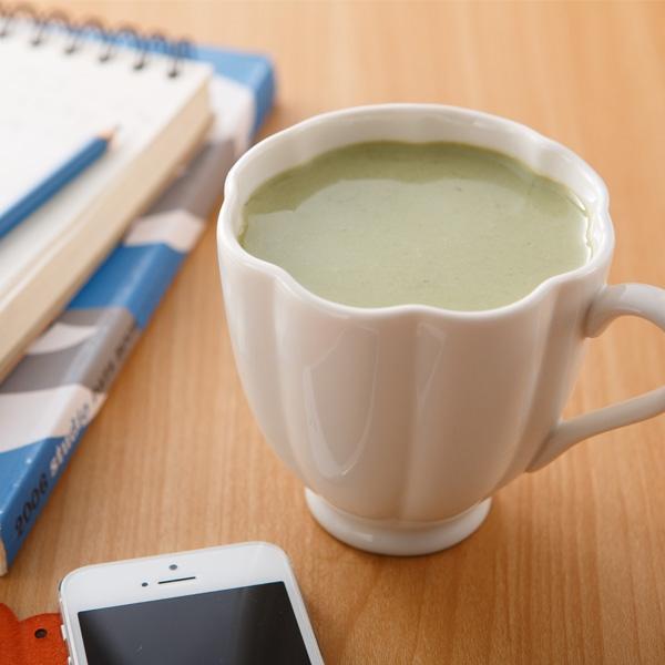 綠茶粉優酪乳