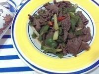 [金門高粱飄香料理]金高青椒沙茶牛肉