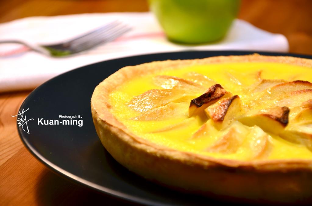 【差不多食譜】布蘭克媽媽蘋果塔 Maman Blanc's Apple Tart
