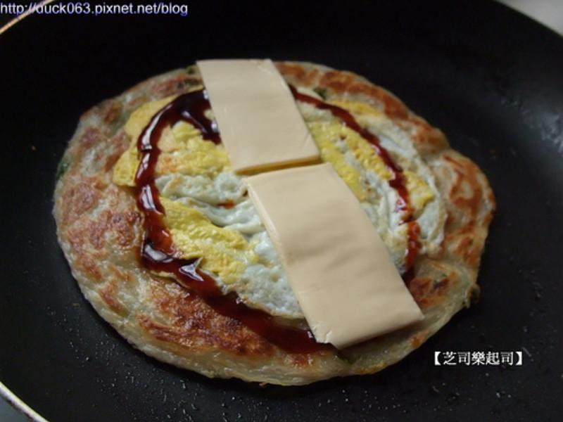 起司蔥油餅~
