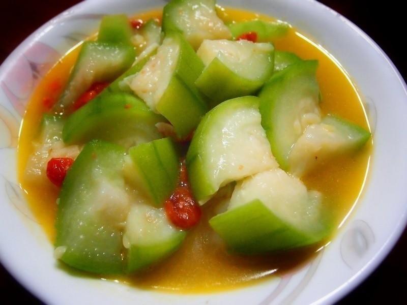 [家常菜]枸杞絲瓜