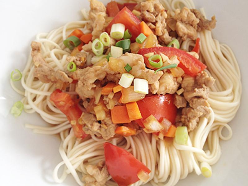 番茄肉燥麵