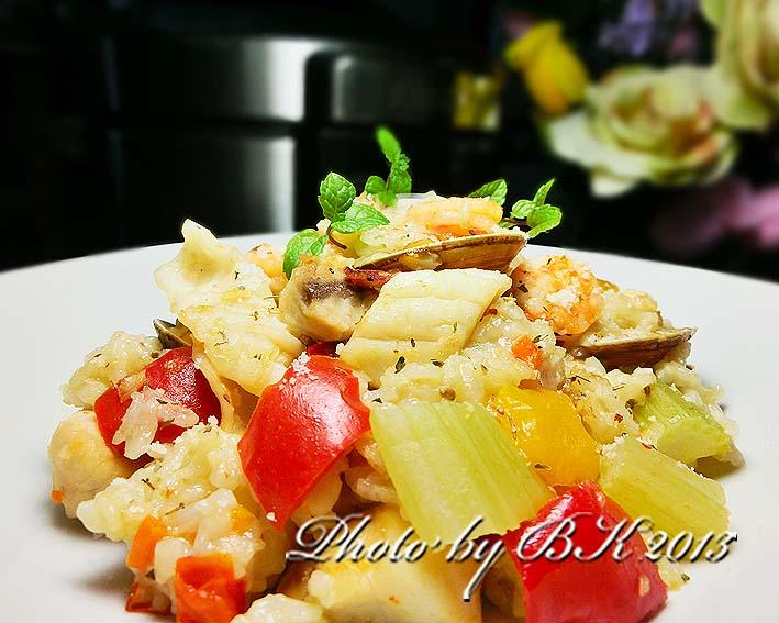 海鮮燉飯「飛利浦智慧萬用鍋」