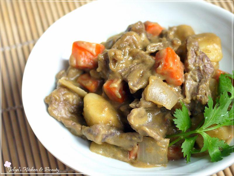 泰式綠咖哩椰汁牛肉♥【飛利浦智慧萬用鍋】