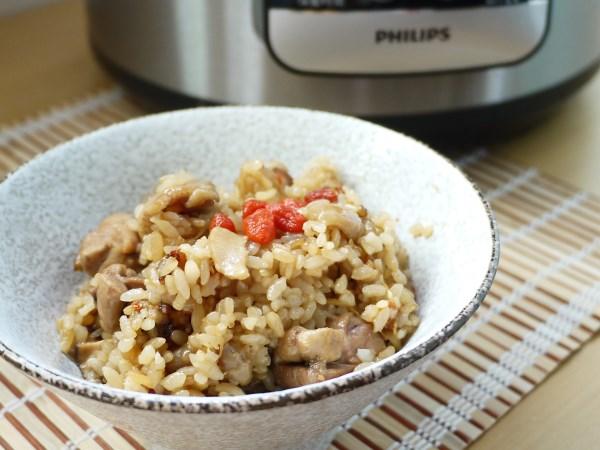 麻油雞炊飯-飛利浦智慧萬用鍋