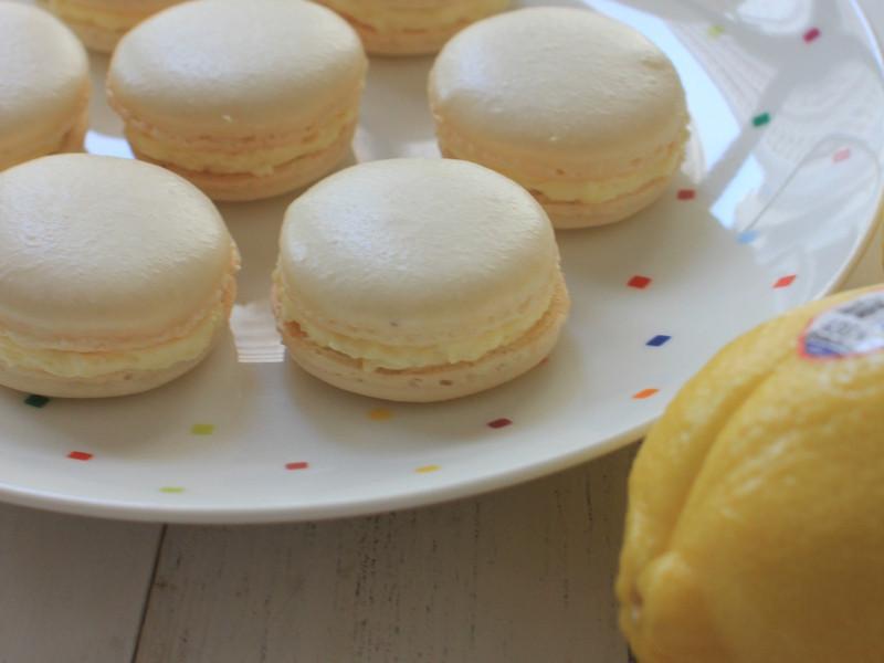 Lemon Macaron - Pierre Hermes Recipe 檸檬馬卡龍