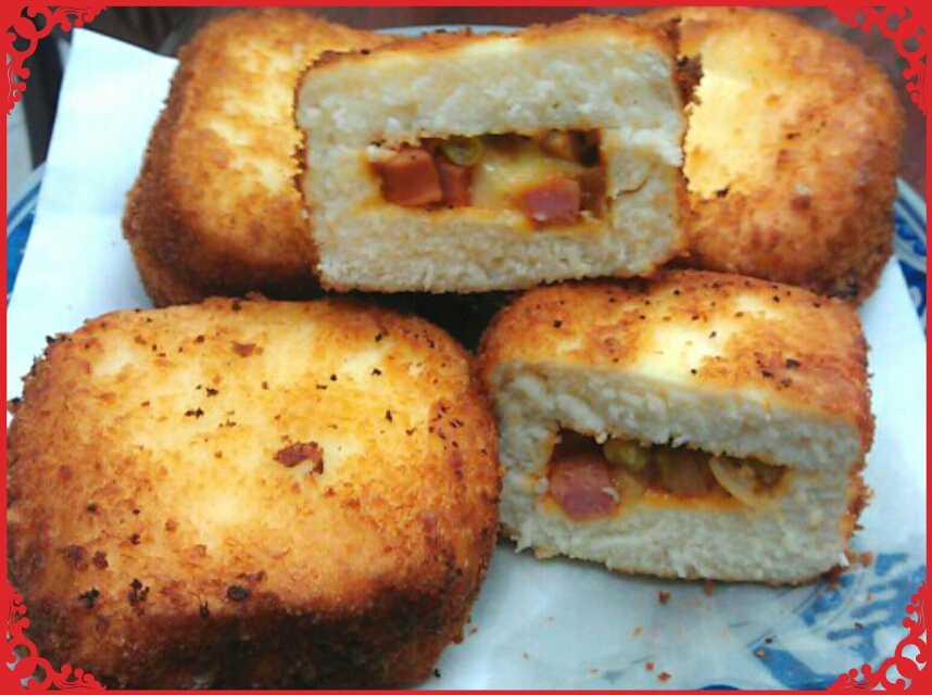 饅頭版營養三明治