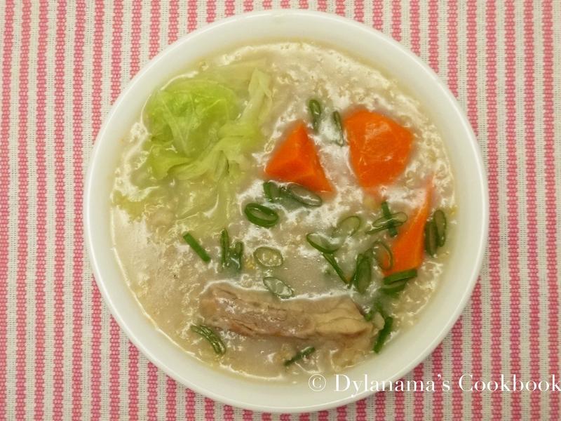 DYLANAMA ♥ 糙米排骨蔬菜粥