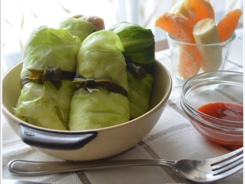 關東煮不可缺----鯖魚高麗菜捲