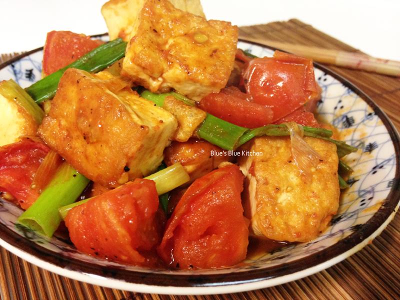 紅燒蕃茄豆腐