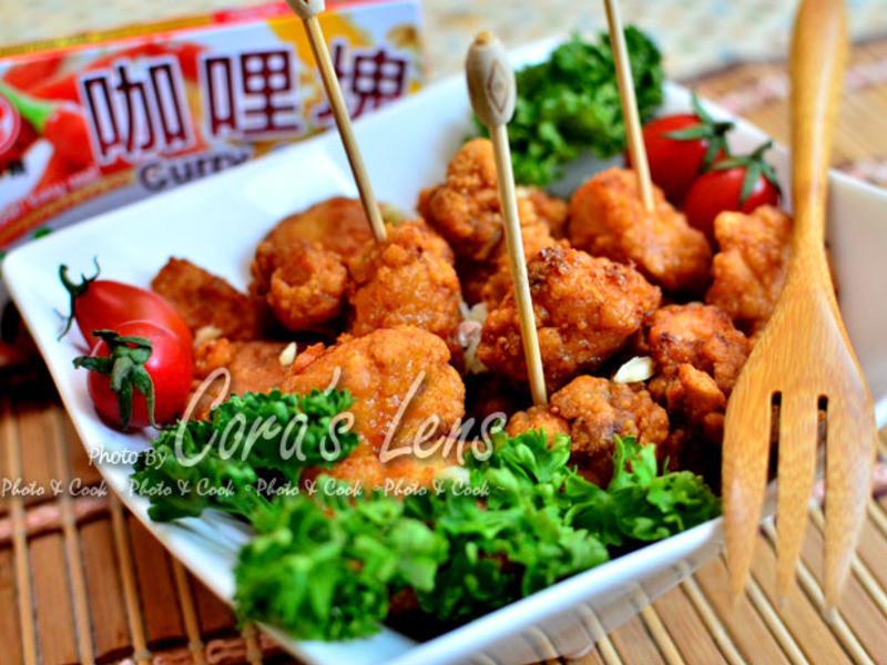 咖哩鹹酥雞-【牛頭牌咖哩塊】