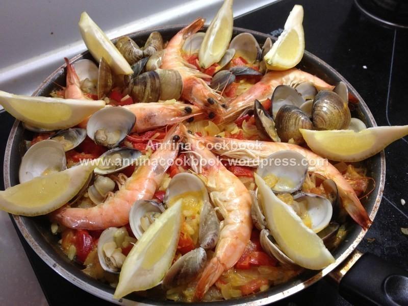 超道地!西班牙海鮮飯