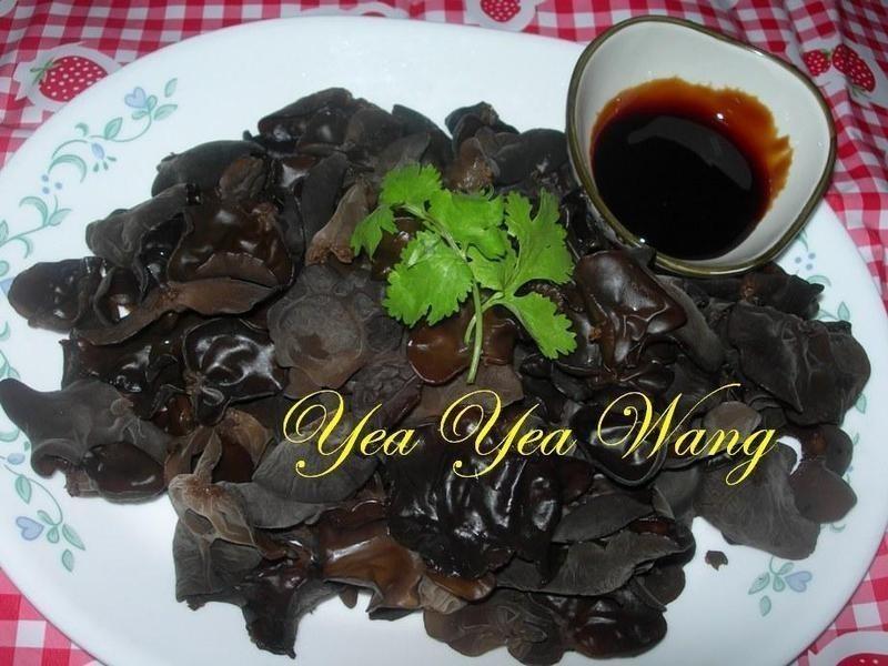 (素)黑木耳佐素蠔油(5min上好菜)