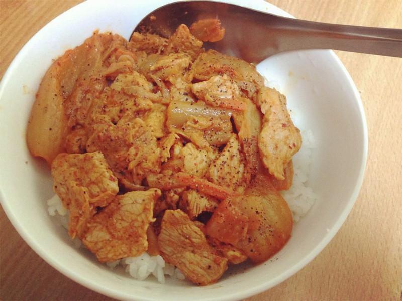 超簡單好上手-韓式泡菜豬肉