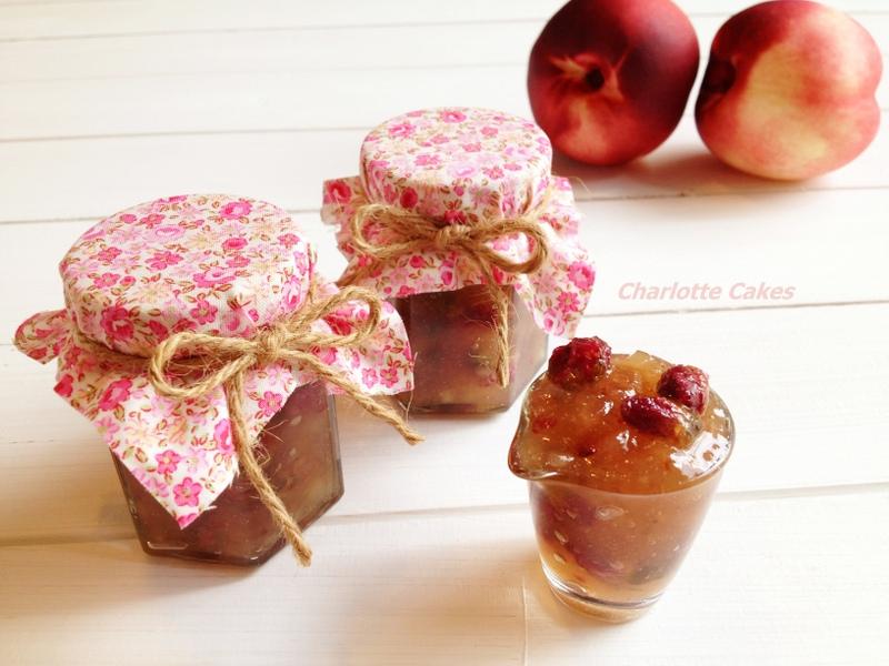 玫瑰蜜桃果醬