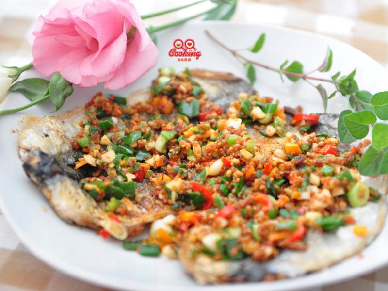 奶香豆酥秋刀魚片