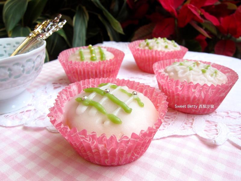 糖霜檸檬杯子蛋糕