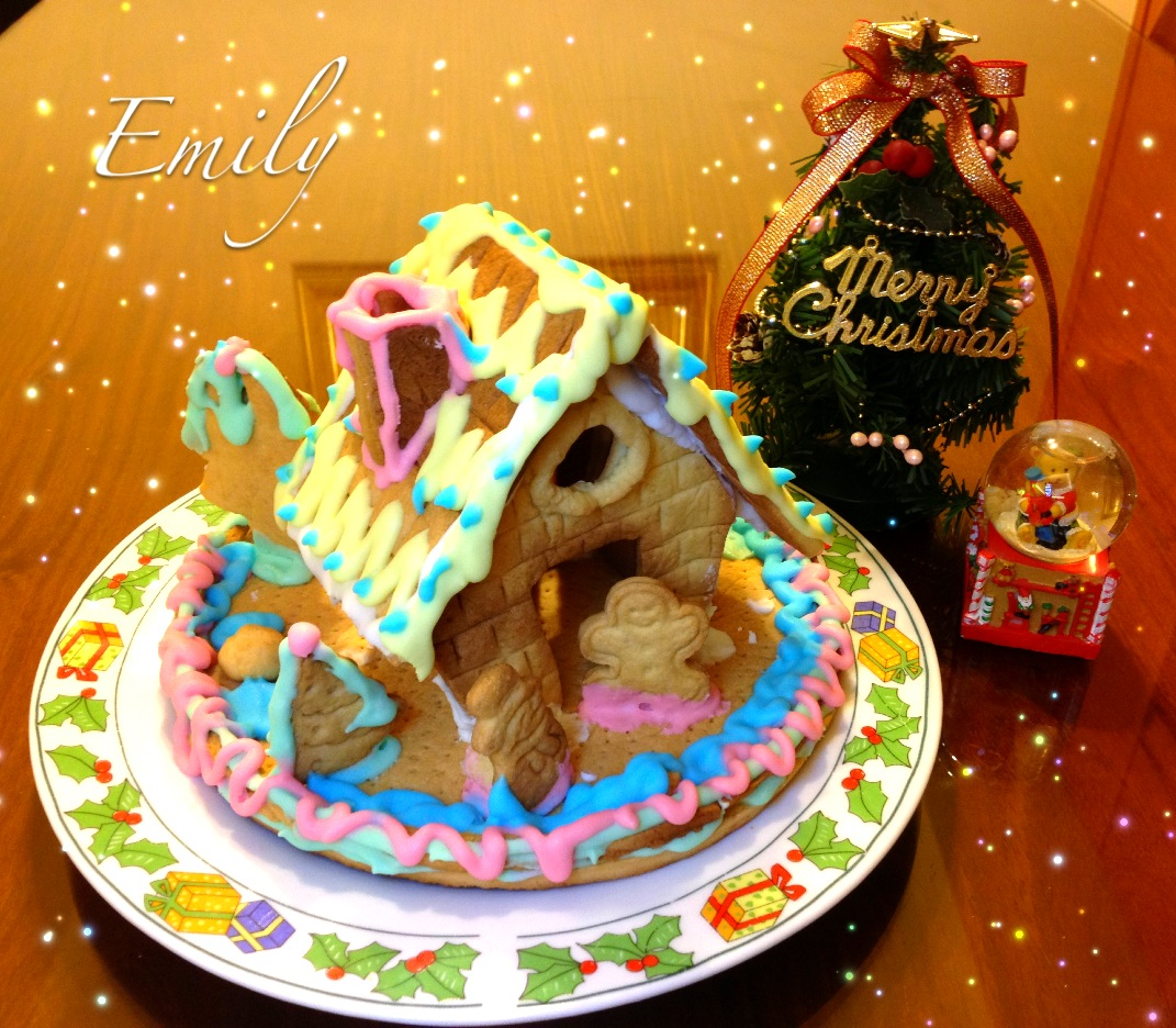 耶誕節薑餅屋