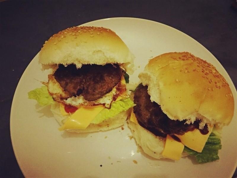 家庭簡易漢堡