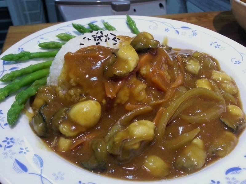 安永鮮物鮮蚵家常料理-鮮蚵咖哩燴飯
