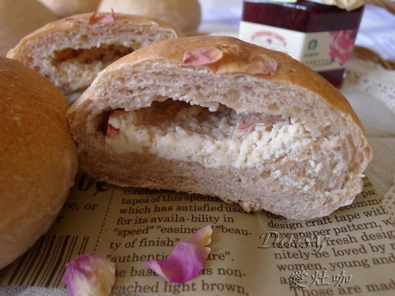 山形玫瑰起司麵包