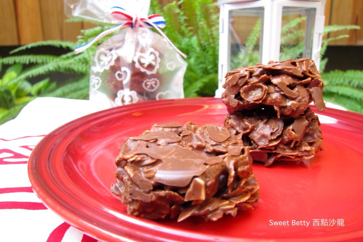 簡易巧克力脆餅