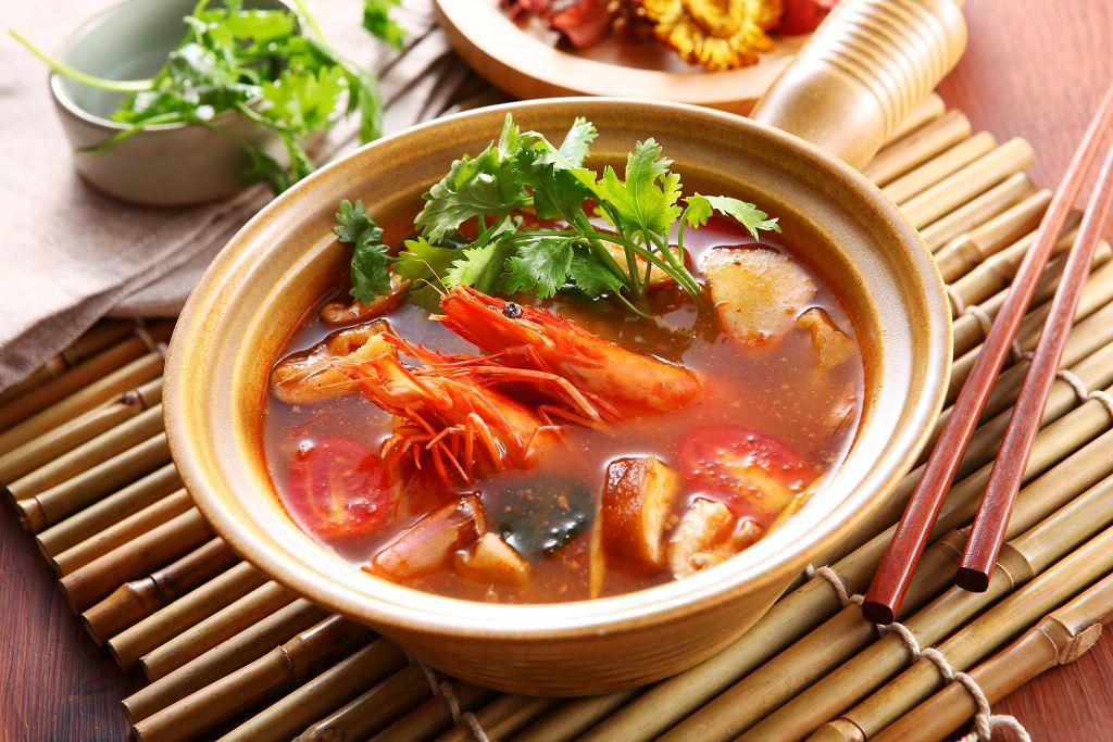 泰式酸辣鮮蝦鍋[蕃茄鍋]