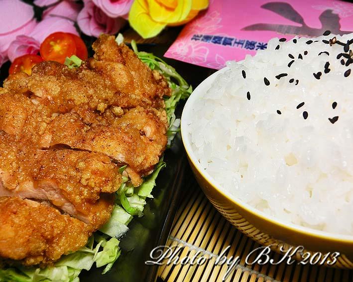 香酥雞排飯【台灣良質米】