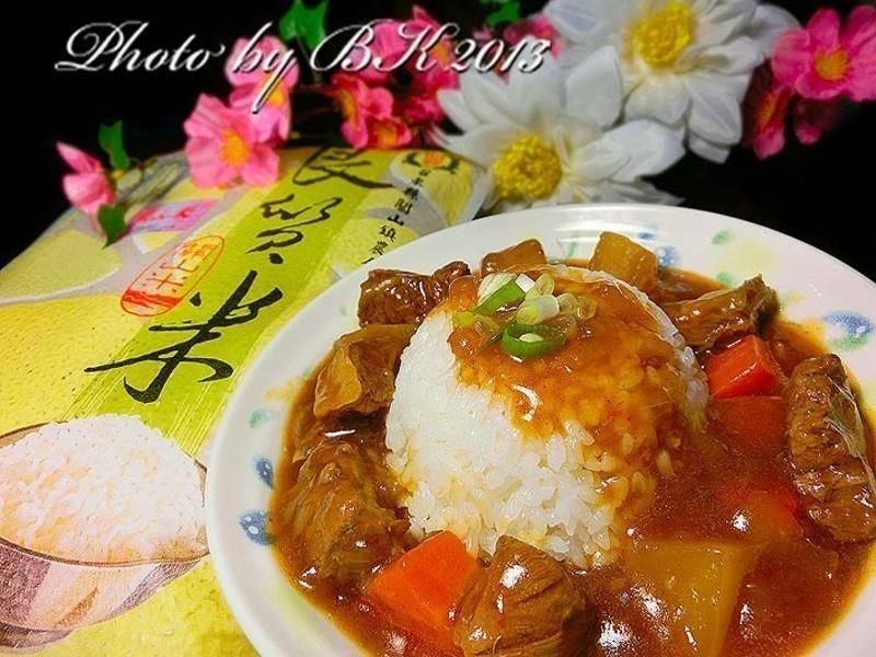 紅燒牛腩飯【台灣良質米】
