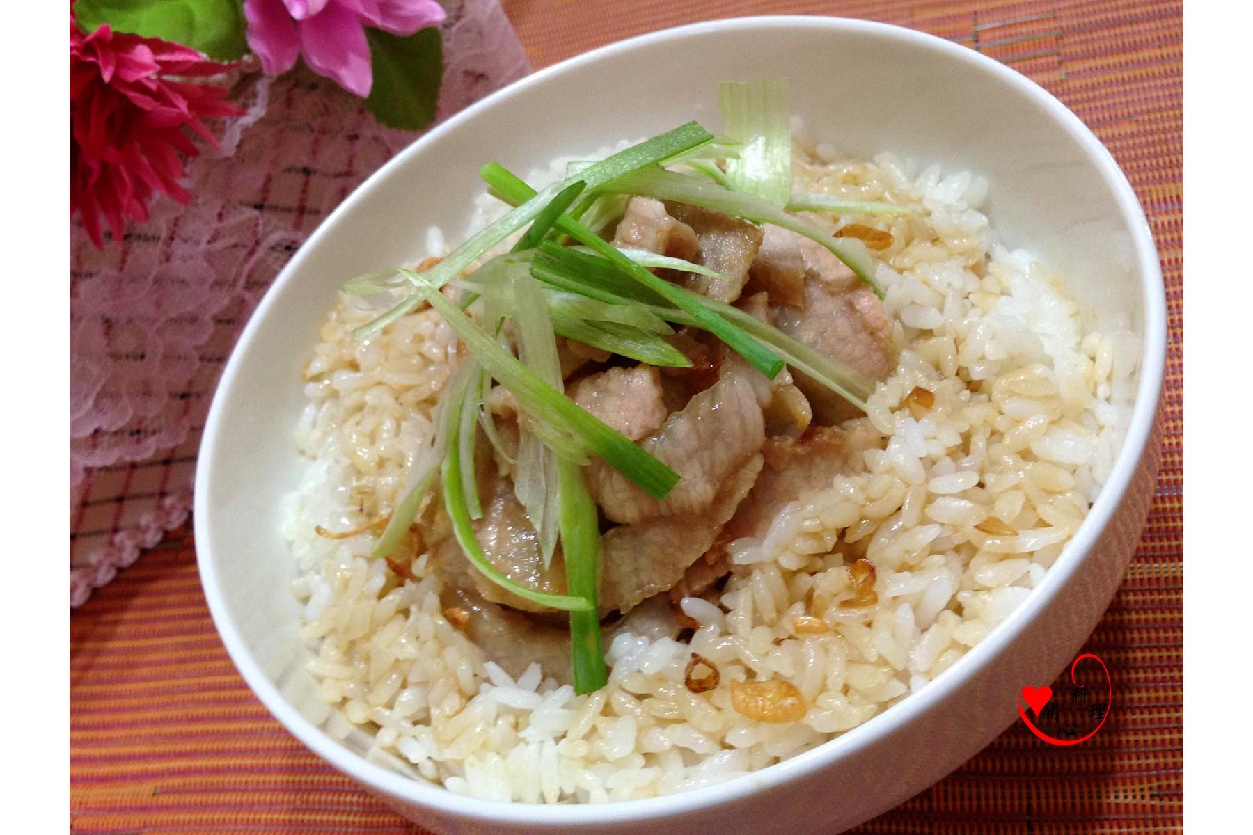 香煎松阪豬油拌飯[台灣良質米]
