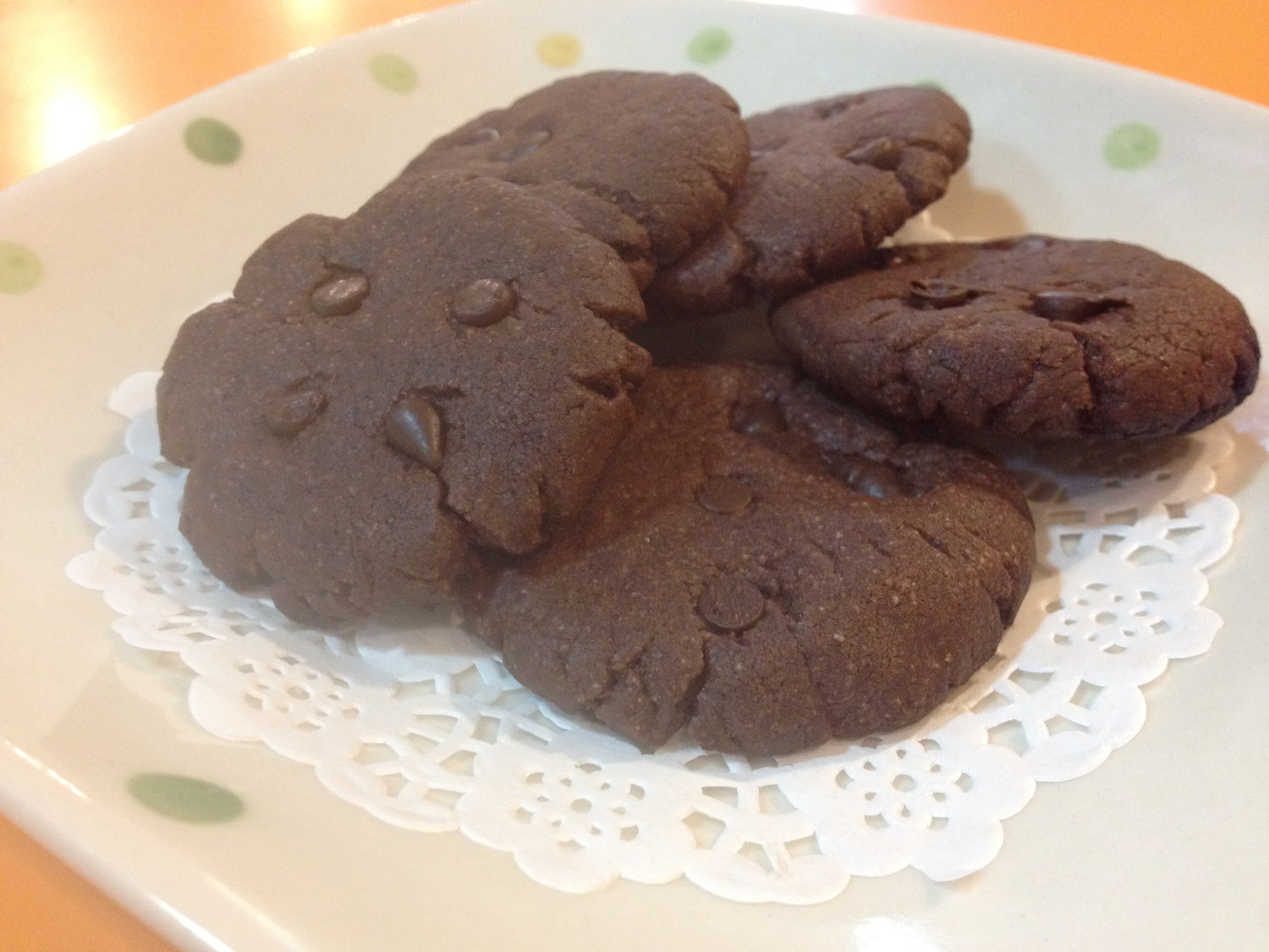 【吳双の親子甜點】水滴巧克力餅乾