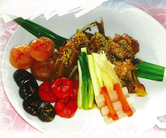 鯛魚下巴甘露煮(台灣養殖漁業發展基金會)