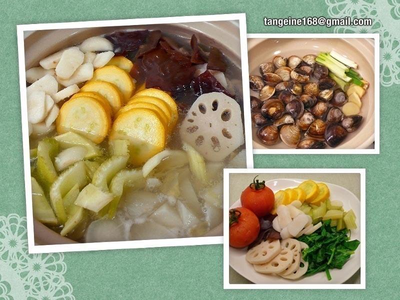 ♥蛤蜊蔬菜涮涮鍋♥  +必嚐一級棒蔬菜