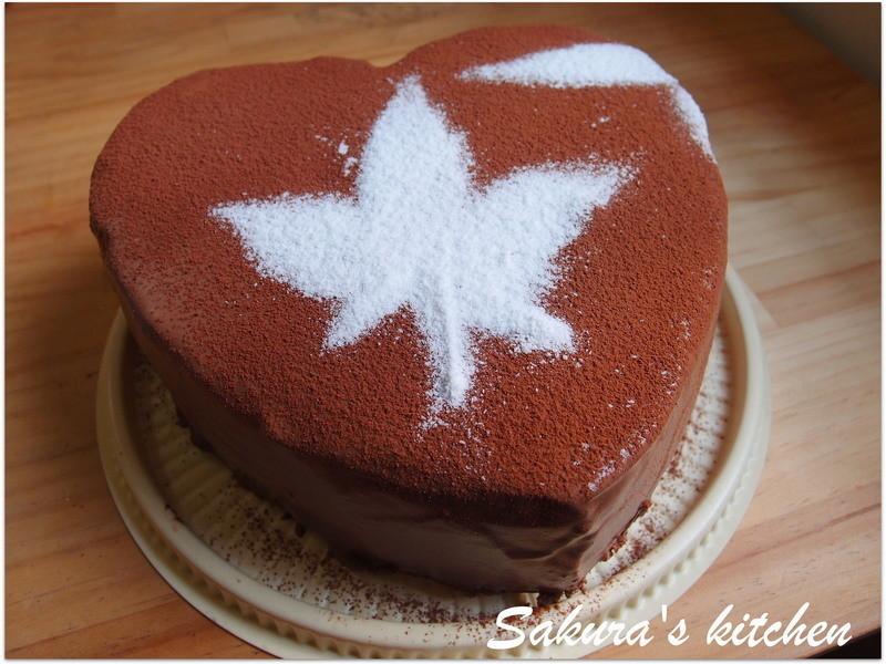 ♥我的手作料理♥古典巧克力蛋糕