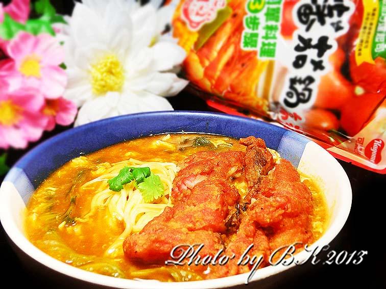 紅燒鰻魚茄汁麵【可果美蕃茄鍋高湯】