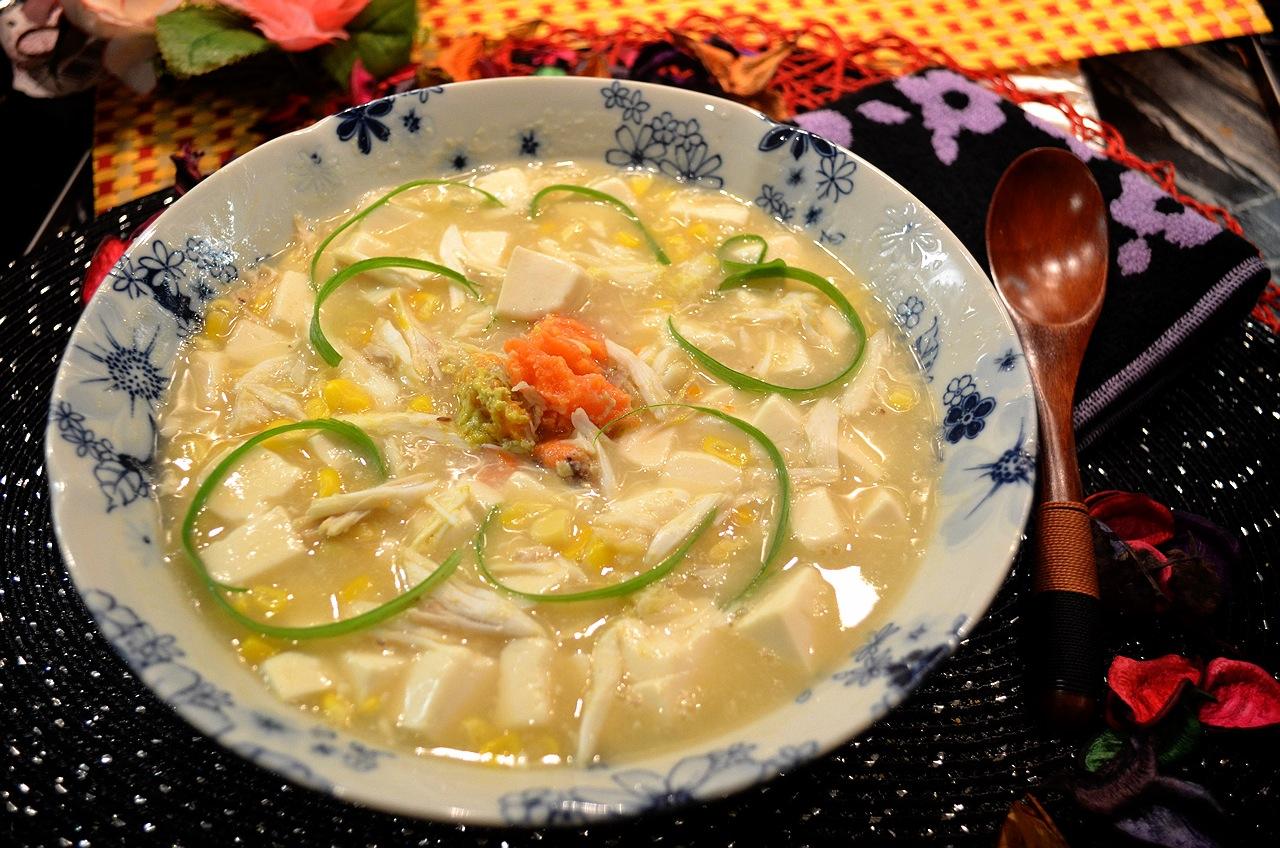 蟹肉豆腐羹