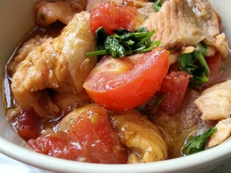 蕃茄三文魚排(鮭魚)