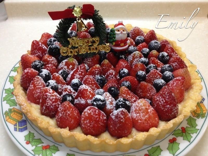 耶誕草莓派