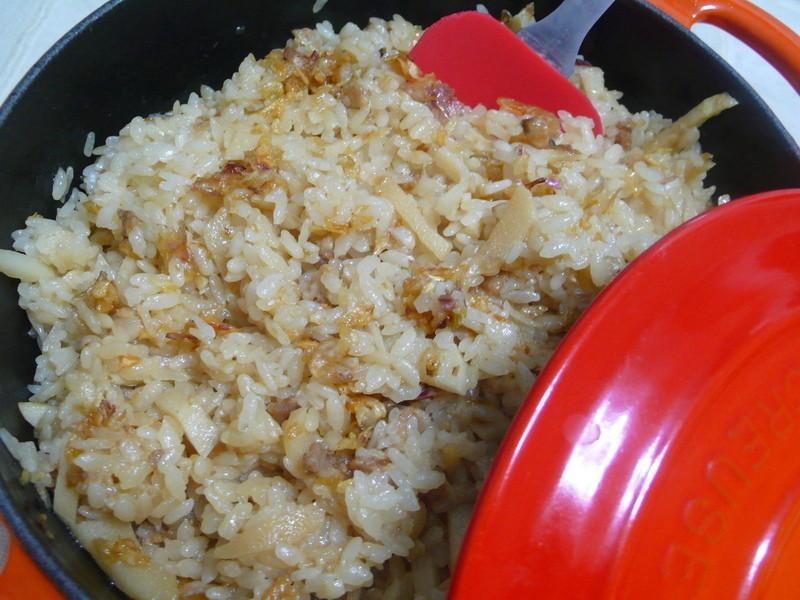 lanni  竹筍飯