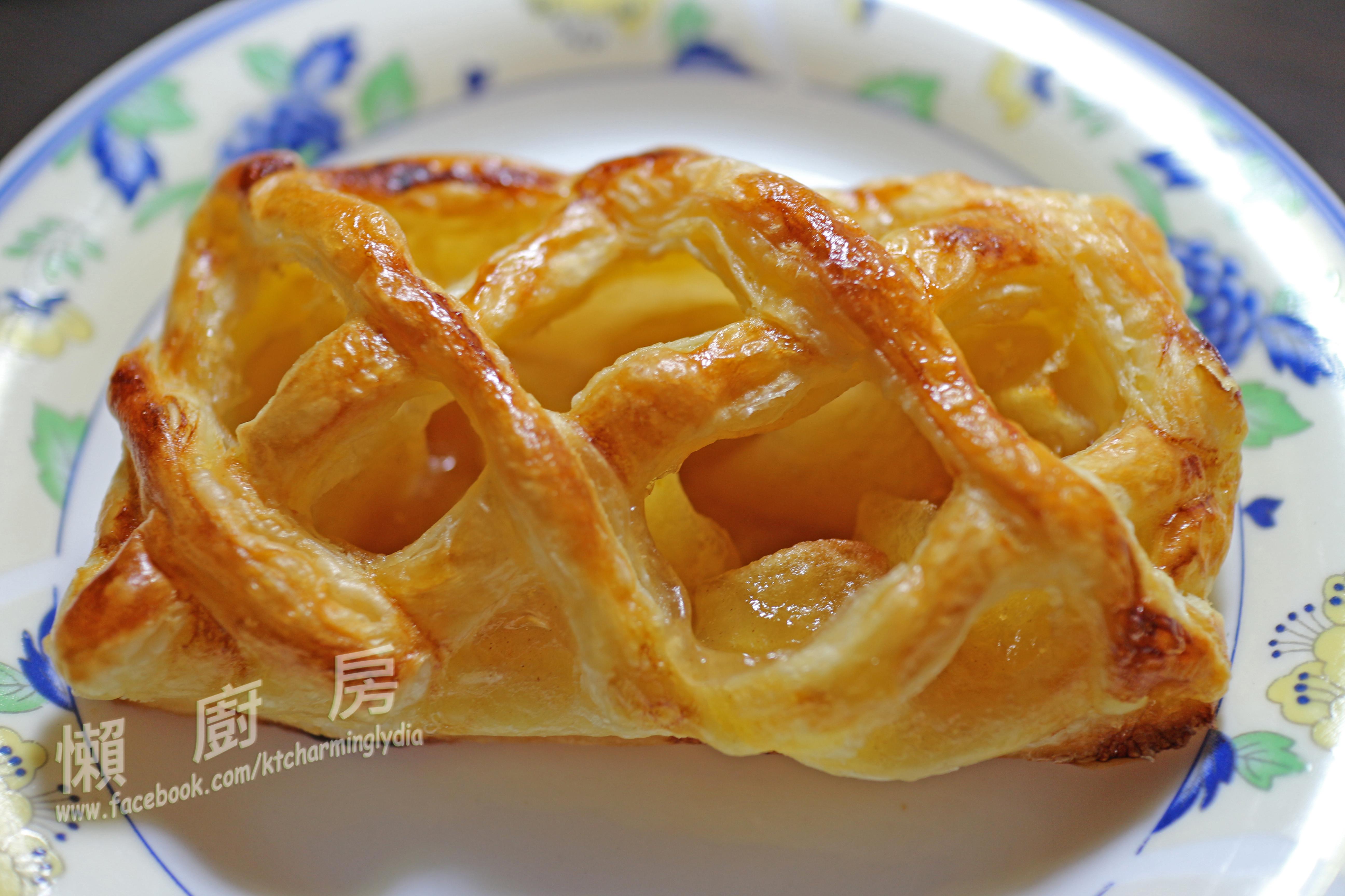 千層酥皮之『蘋果派』(上:千層酥皮篇)