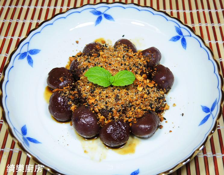 紫薯花生糖