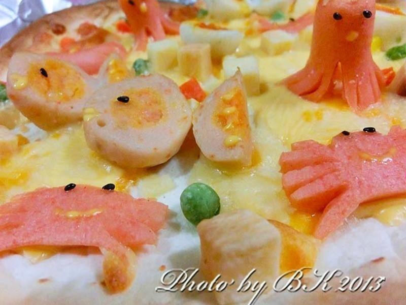 寶貝♥pizza(海底世界)