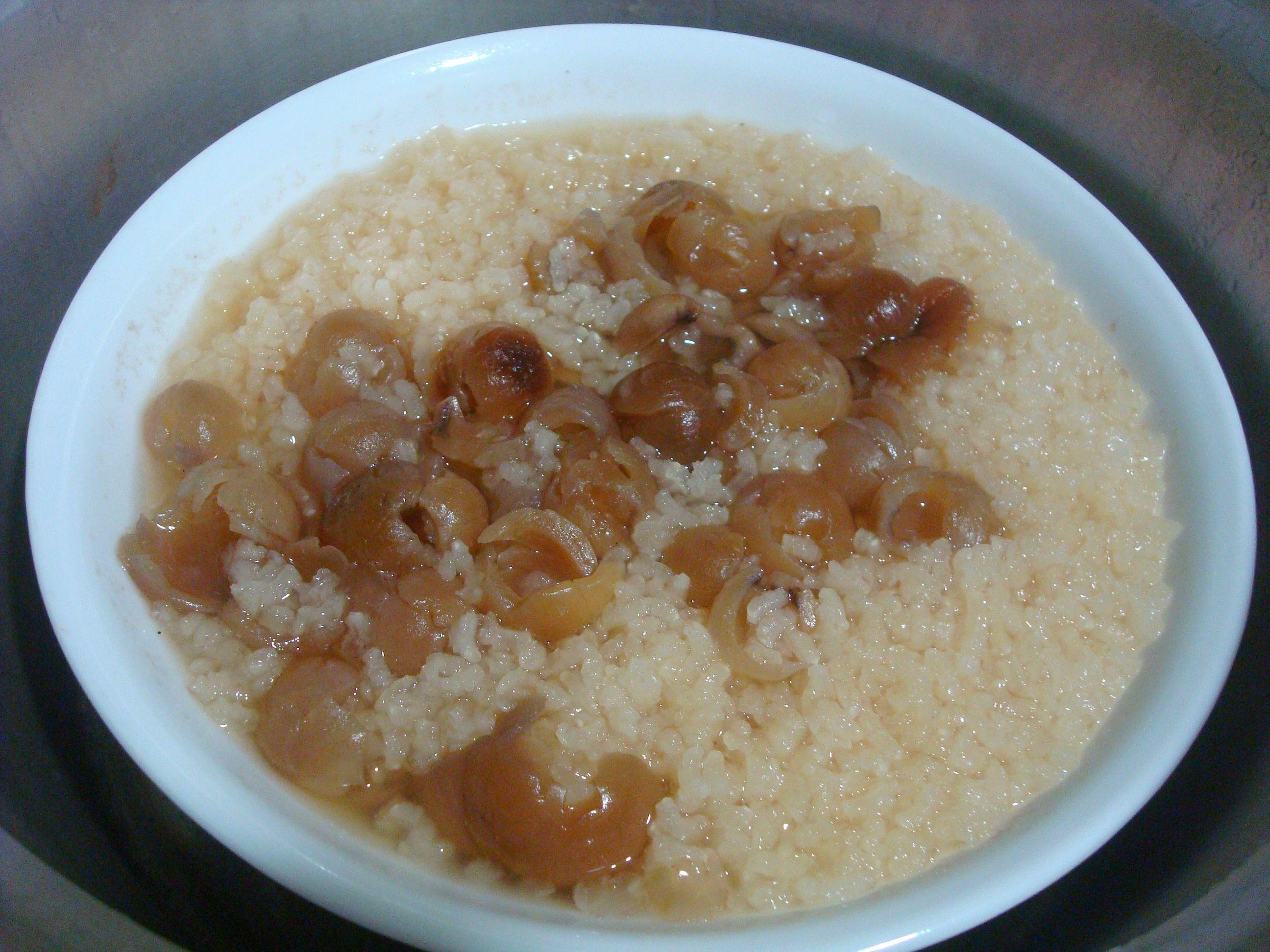 簡單米糕粥(桂圓粥)