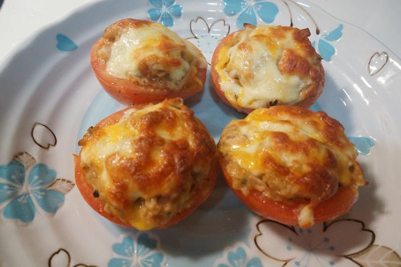 焗烤鮪魚蕃茄