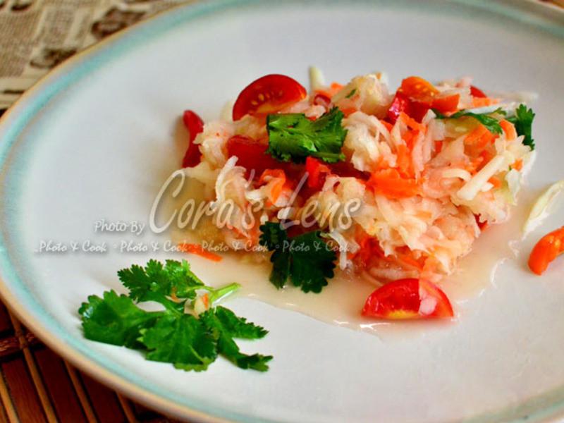 泰式涼拌大頭菜