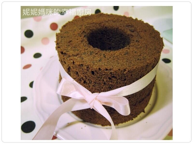 巧克力戚風蛋糕 (日式6吋)