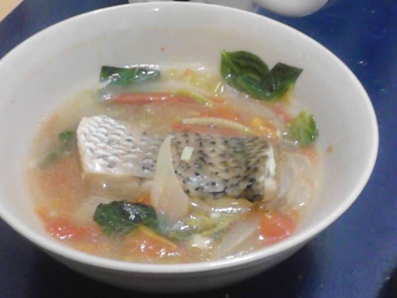 西式鱸魚湯